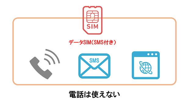 データSIMは電話以外使える